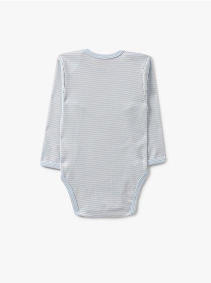 מארז 3 בגדי גוף סטרייפס-בייבי