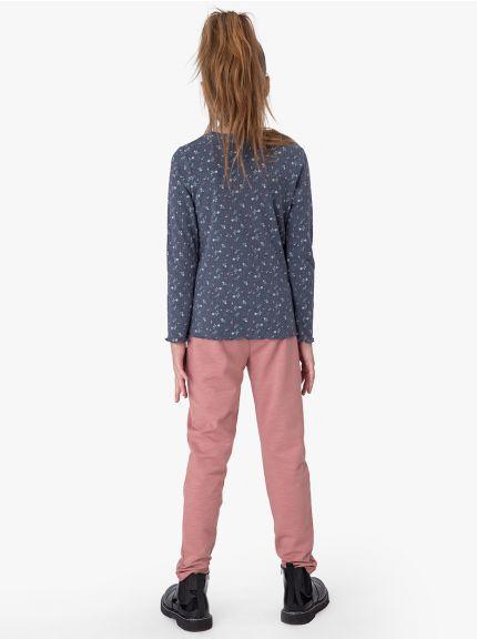 חולצת טי ריב לאנה