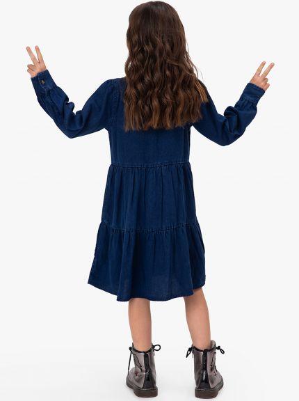 שמלת ג'ינס אינדי-גירל