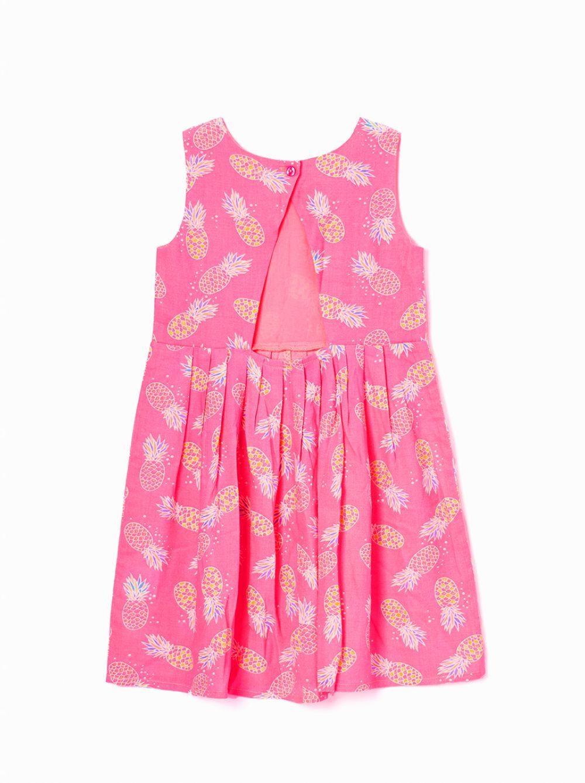 שמלה פרחונית אנימל-גירל