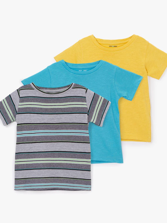מארז 3 חולצות טי בייבי-לייף