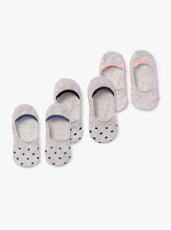 מארז 3 זוגות גרביים דוטס