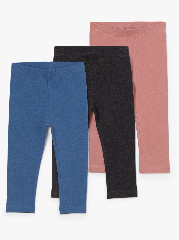 מארז 3 מכנסי טייץ קיוטי-בייבי