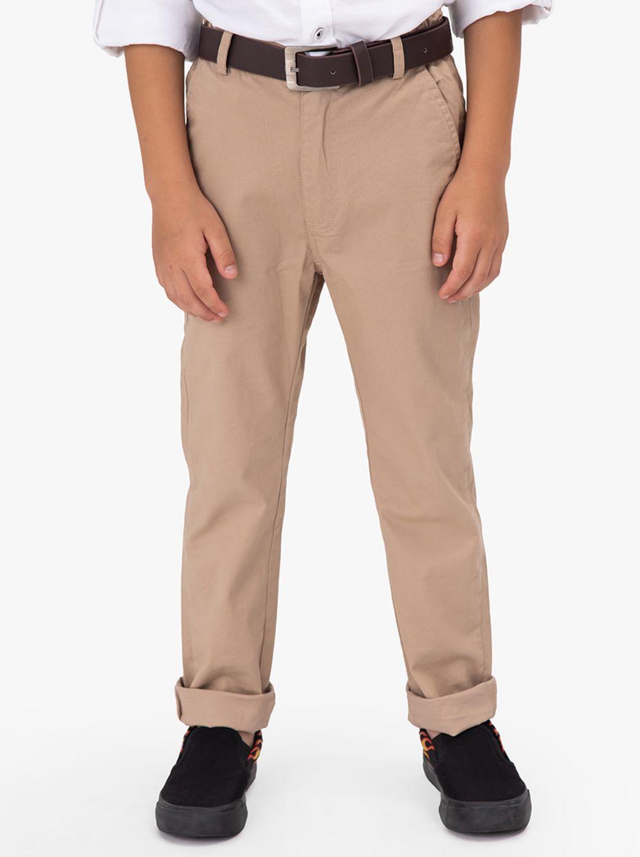 מכנסי צ'ינו נייצ'ר-בוי בשילוב חגורה
