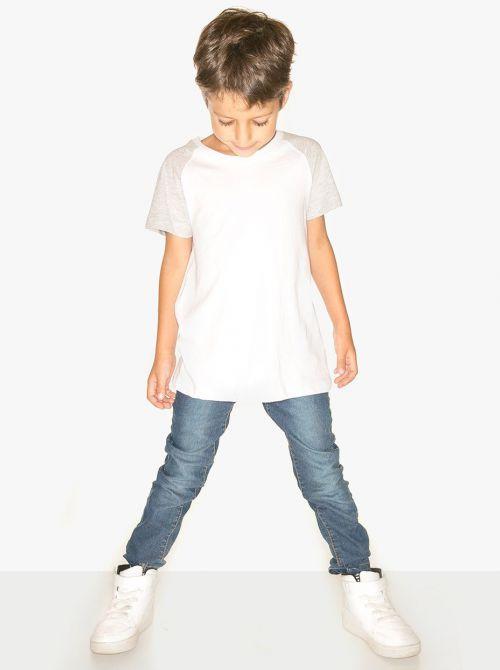 חולצת בייסבול שרוול קצר