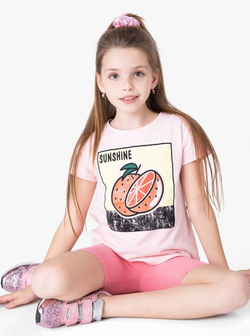 חולצת טי פרוטי-גירל