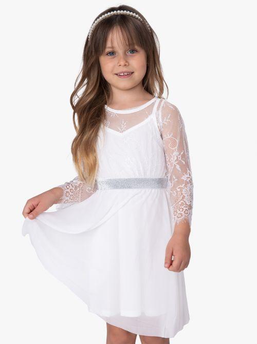שמלת תחרה רייס-גירל