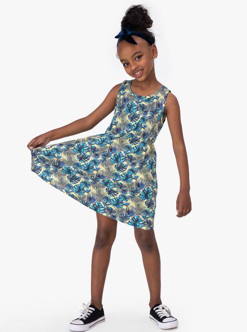 שמלת טרופיק פתח קאט-אאוט