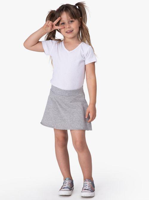 חצאית מעטפת סוויט-ליידי בשילוב שורטס