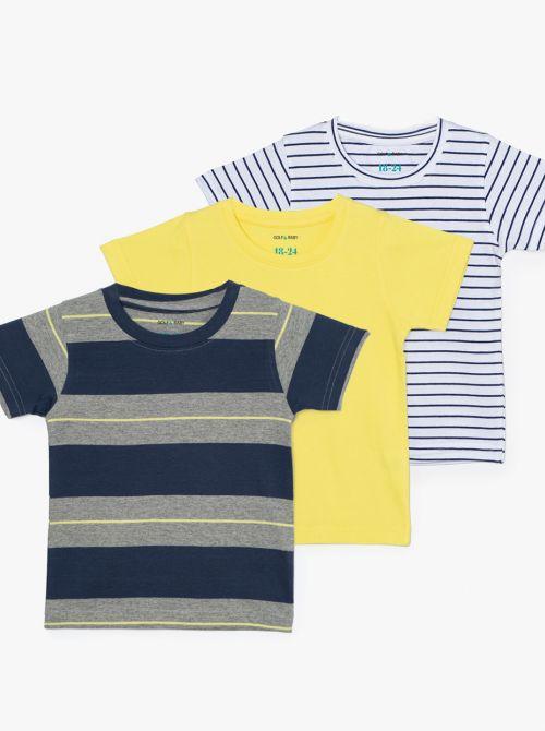 מארז 3 חולצות טי לייק-בייבי