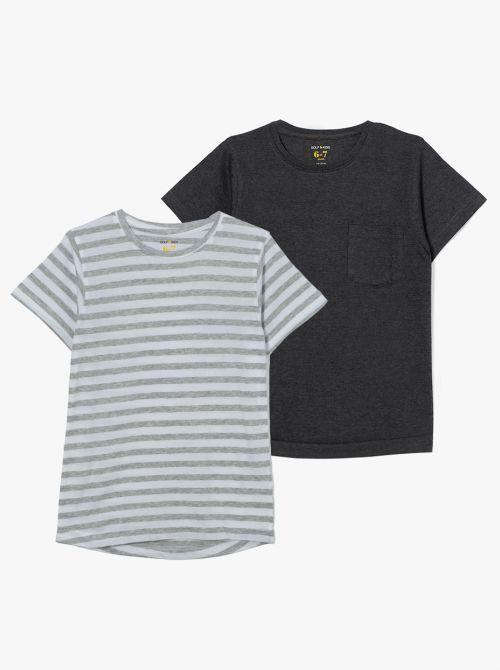 מארז 2 חולצות טי בייסיק-בוי