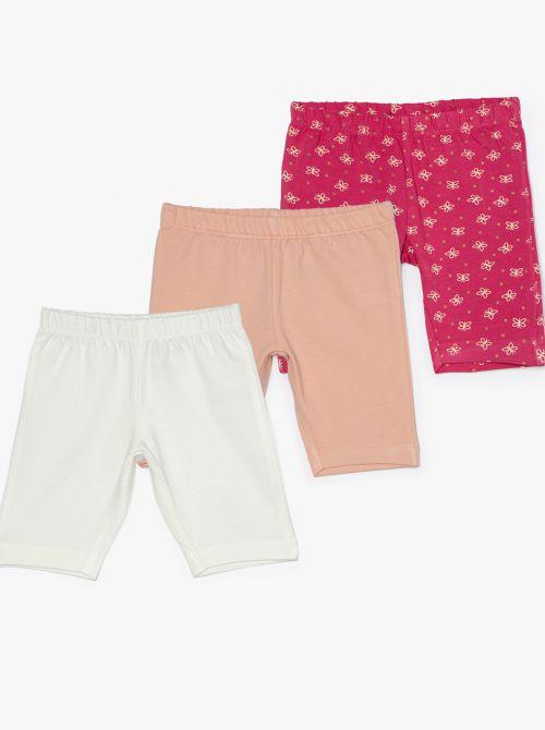 מארז 3 מכנסי טייץ קצרים סוויט-בייבי