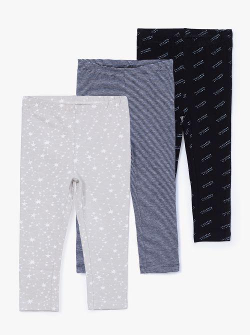מארז 3 מכנסי טייץ קנדי-בייבי
