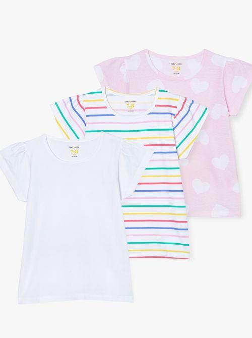 מארז 3 חולצות טי ביוטי