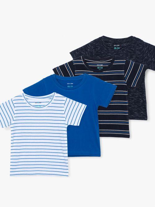 מארז 4 חולצות טי שייק-בייבי