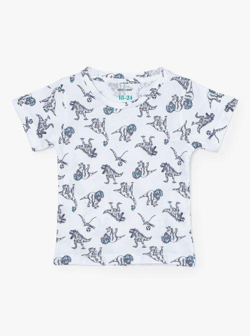 חולצת טי דינו-בייבי