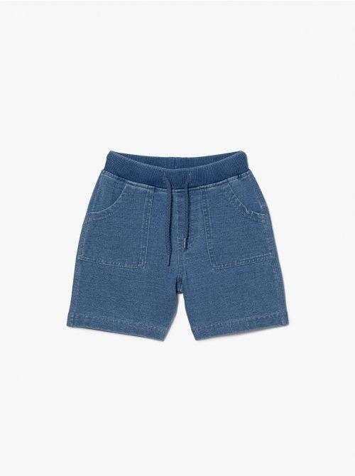 מכנסיים קצרים קיוט-בייבי דמוי ג'ינס