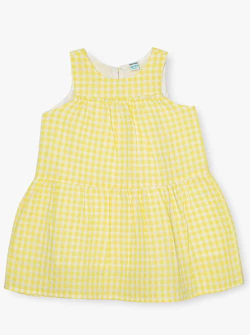 שמלת משבצות למון-בייבי