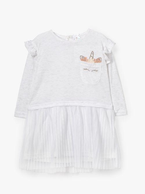 שמלת טול יוניקורן-בייבי