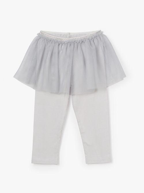 טייץ בשילוב חצאית טוטו רוק-בייבי