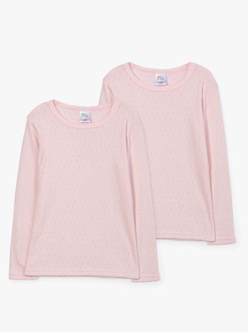 מארז 2 חולצות טי נייס-גירל