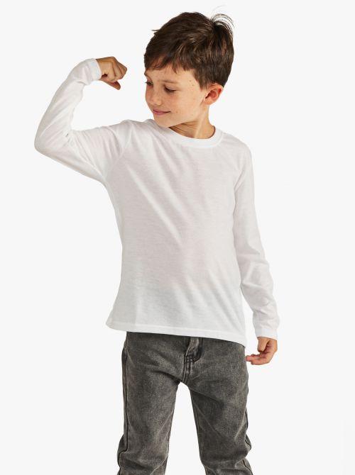 חולצת טי שרוול ארוך בגזרה קלאסית