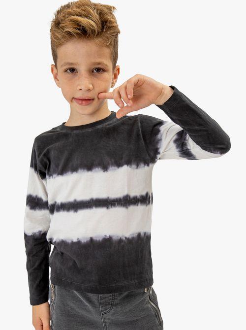 חולצת TIE DYE עם שרוולים ארוכים