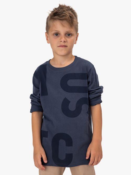 חולצת טי עם דפוס א - סימטרי