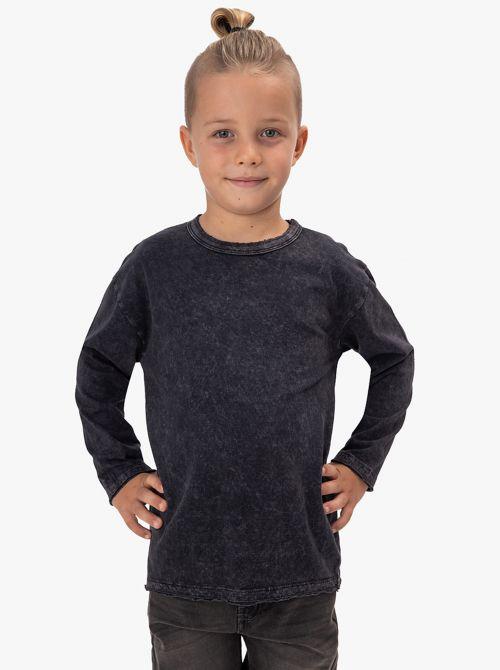 חולצת טי עם שטיפת USED LOOK