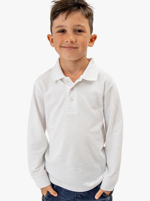 חולצת פולו מבד פיקה