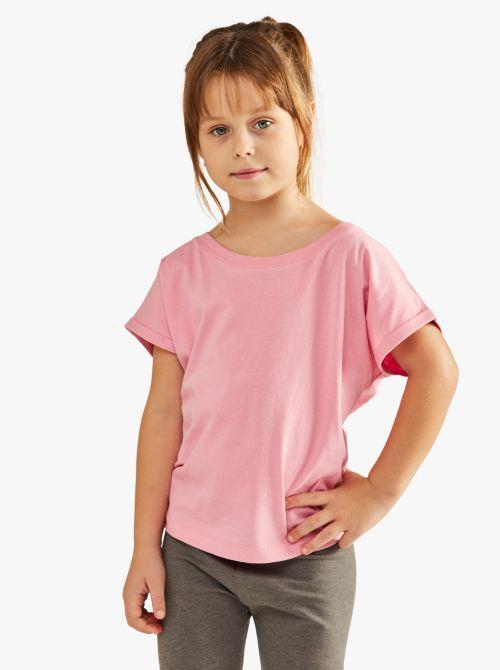 חולצת טי שרוול קצר בגזרת לוס