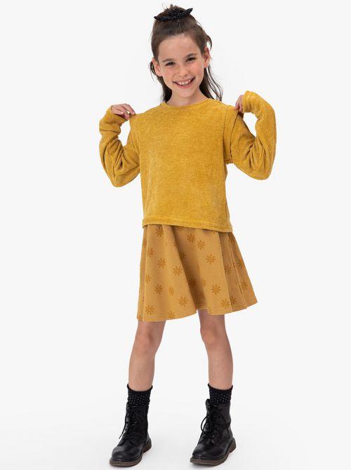 חצאית טייגר-גירל בד פוטר