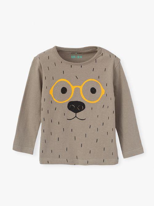 חולצת טי בדפוסי חיות