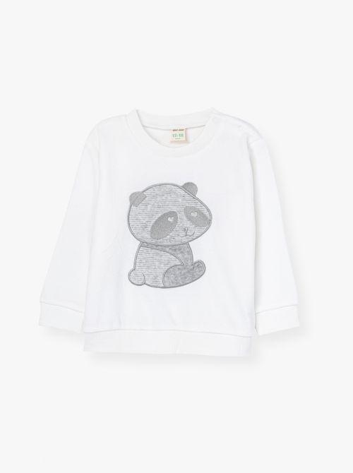 חולצת הארט-בייבי גימור קטיפתי