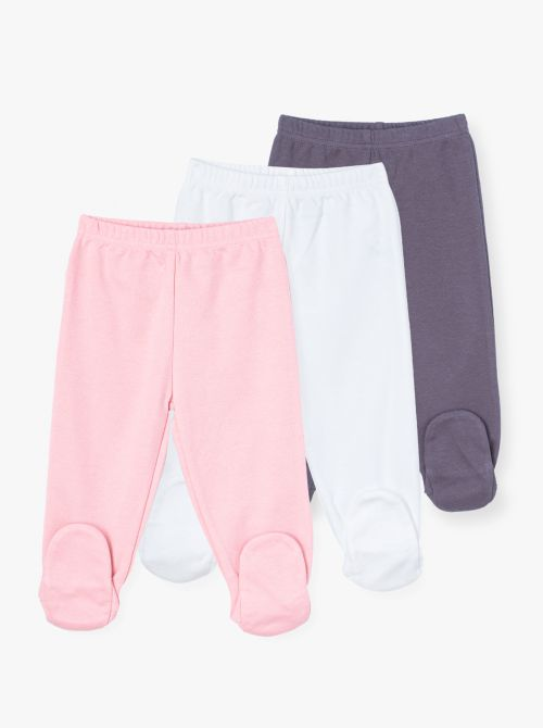 מארז 3 מכנסי רגליות פלואו-בייבי